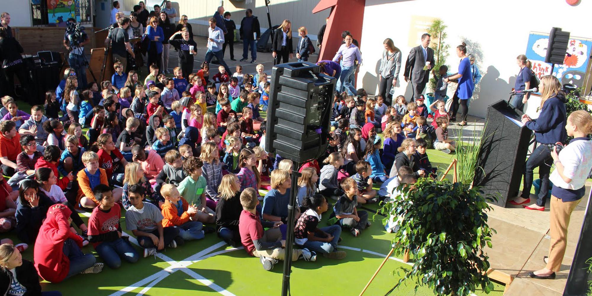 Liberty School Event Amplification