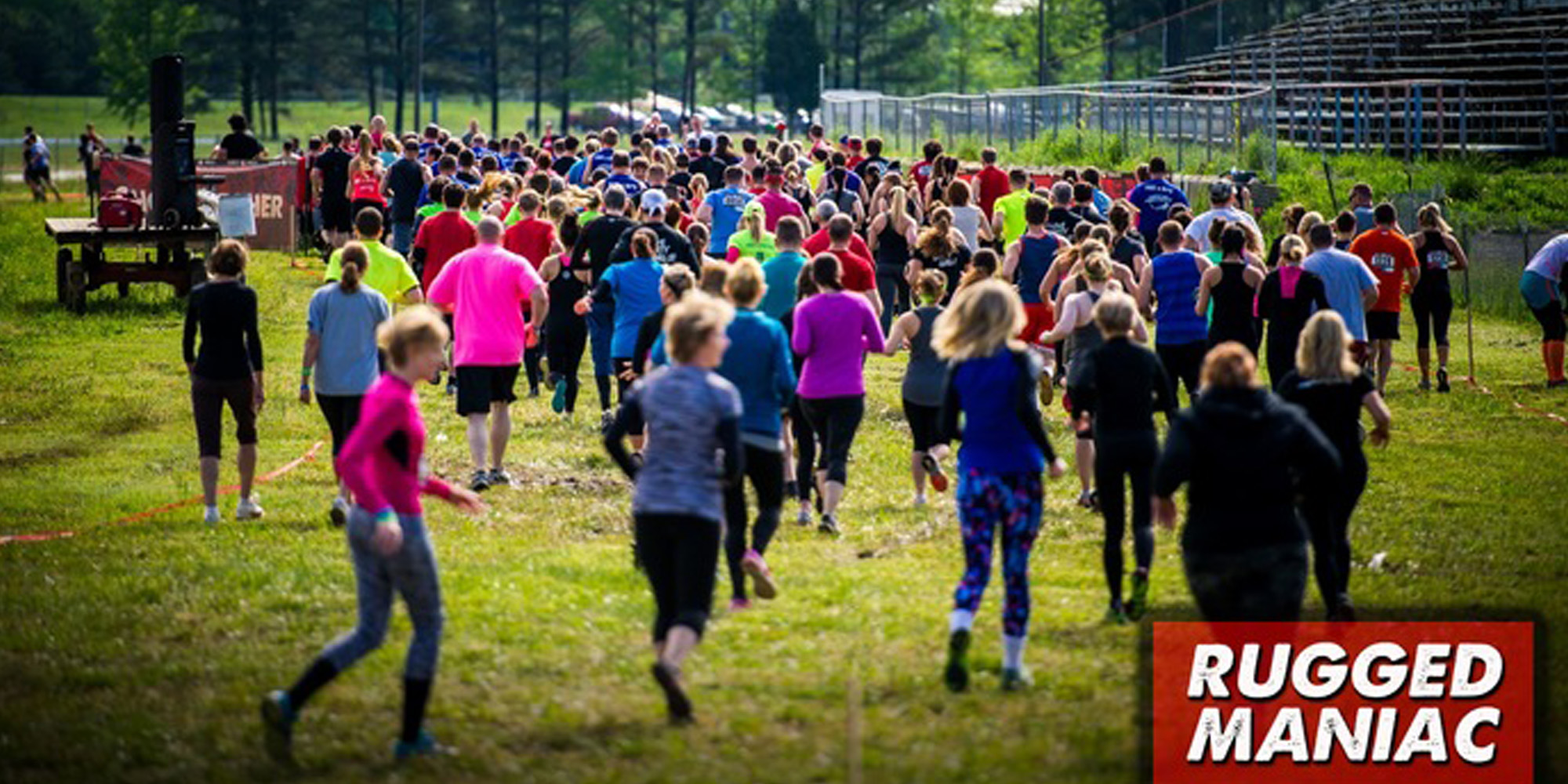 Outdoor Obstacle Course Race