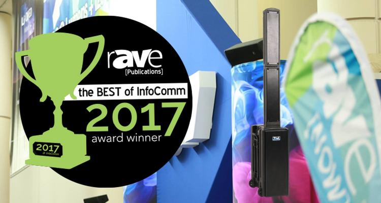 Beacon Line Array Wins Best of InfoComm 2017 Award