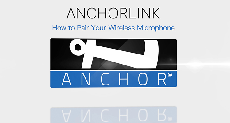 How To: Pair Your AnchorLink Wireless Microphone and Belt Pack